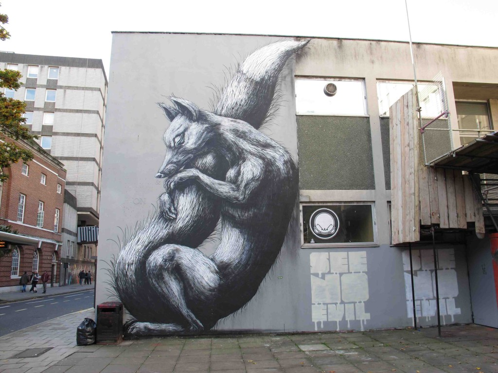 Blog image about contemporary urban art