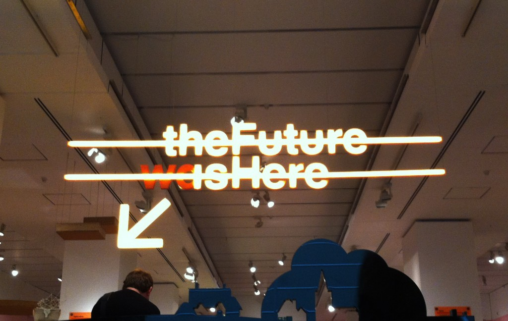 The Future is Here at the Design Museum - Image: Authors own
