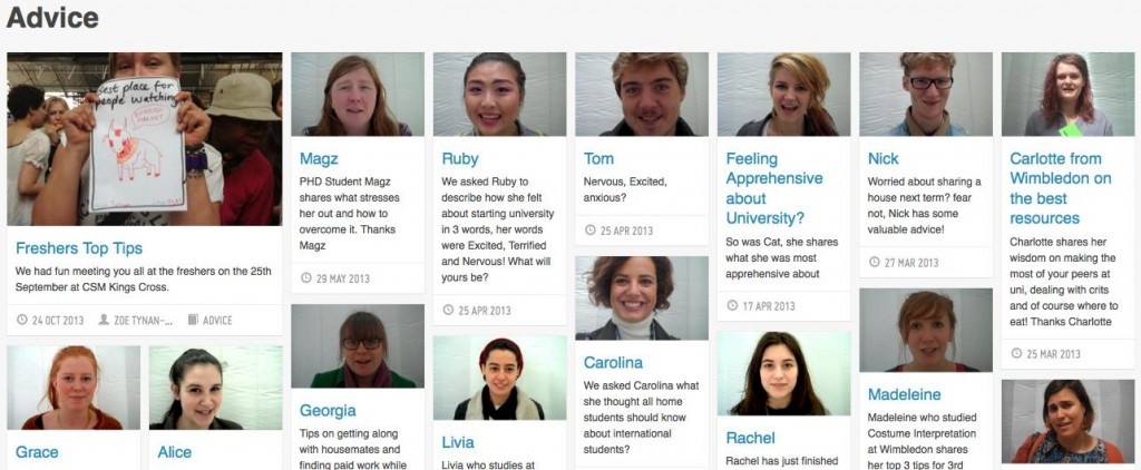 Commonplace: digital platform for students