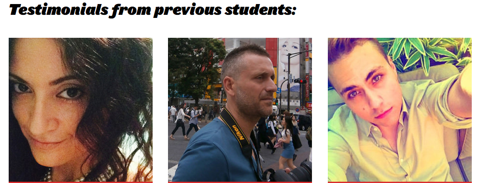 Nicoletta, David and Jacov, CSM online short course students. Image UAL  2014